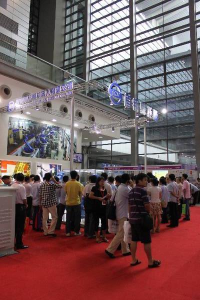首钢亮相第15届华南自动化展