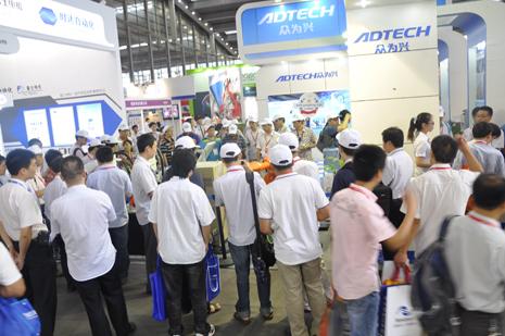 众为兴携焊接机械手新品 盛装出席华南自动化展