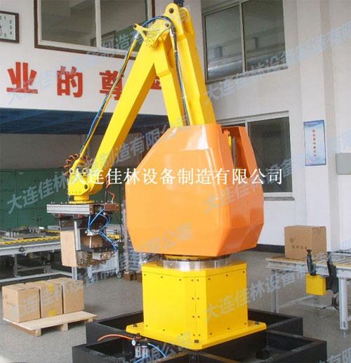 大连佳林公司多款包装机器人产品亮相上海包装展