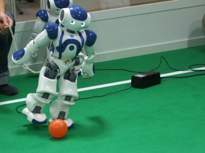 国内RoboCup比赛现场的集锦