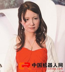 """""""双子替身F号""""仿生女机器人拥有丰富面部表情 多达六十五种"""