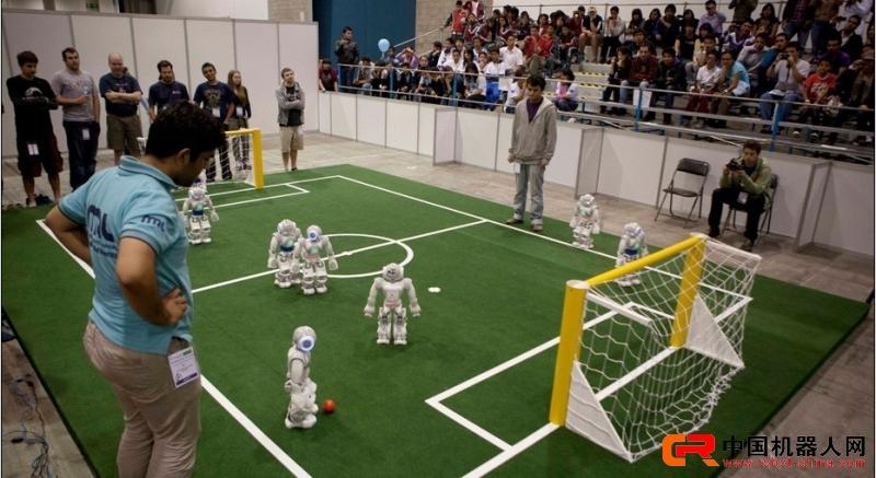 2012机器人足球世界杯在墨西哥举行 图