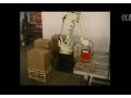 川崎机器人箱体码垛