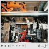 机动车传动装置压铸机上的机器人