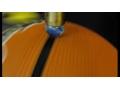 发那科M-10iA和电弧交配100ic展示在一个篮球运动协调