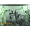 日本川崎机器人汽车保险杠喷涂