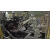 日本川崎機器人鋁鑄造產品澆注作業