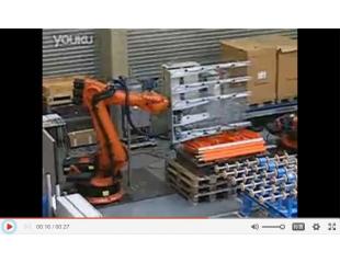 KUKA机器人GLASS双机搬运