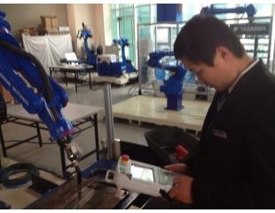 安川MOTOMAN机器人在激光切割行业应用