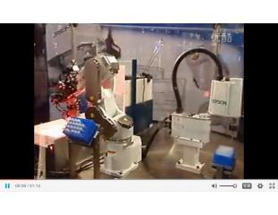 2010年齐发国际机器人应用于 实验室自动化(C3和G1机器人)