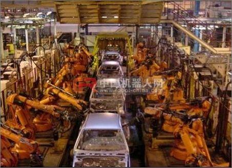 """工业机器人""""走""""入中国 政企同心 齐力断金"""