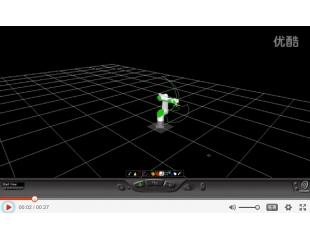 KeMotion机器人配合变位机应用演示视频