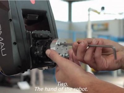 柯馬Racer機器人與馬科?貝里內利合作視頻幕后拍攝花絮