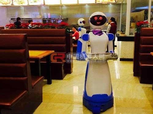 宁波慈溪机器人当跑堂