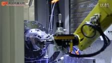 FANUC 加工加载和卸载2机床使用3D挑选