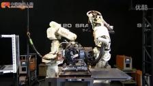 NACHI MR20 & SRA100B点焊演示