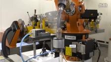 库卡系统电弧焊接 —— 梯形车架生产