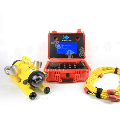 带灯水下智能机器人摄影,水下救援沉船打捞,水下古城探索