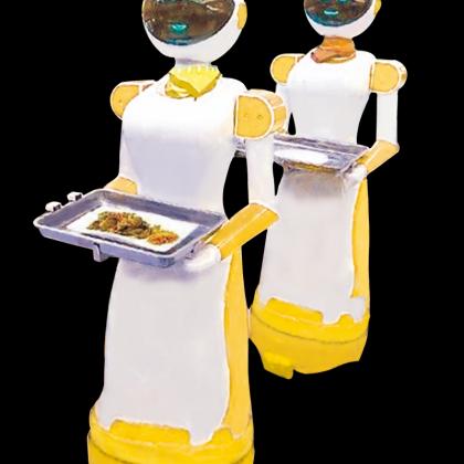 餐饮服务机器人,智能,
