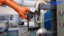 铝锅打磨机器人系统