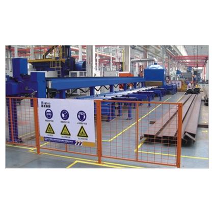 一般工业  型材机器人焊接生产线