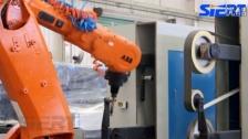 榔头机器人打磨系统