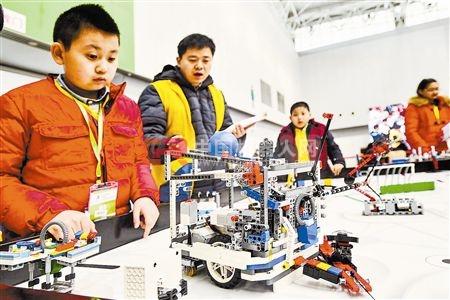 小工程师 比拼机器人