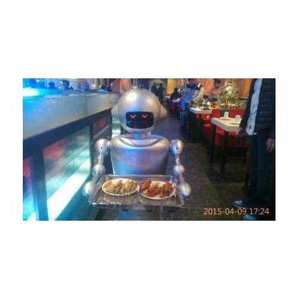 昆山送餐机器人--节省人工\ 吸引目光