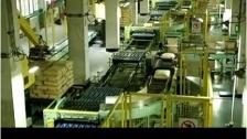 哈尔滨博实公司RB200型工业码垛机器人及立体输送视频
