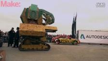 高达来了!MegaBots打造巨型战斗机器人