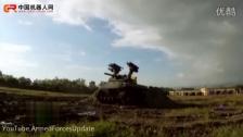 俄罗斯军用无人驾驶机器人战斗车