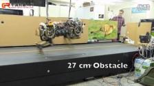 猎豹机器人的跑跳测试
