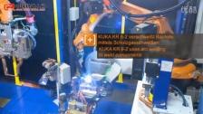 库卡机器人结合电弧点焊