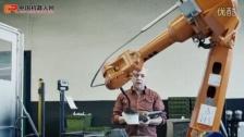 ABB机器人——铸铝零件与机器人