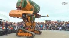 帅呆了!机器人—MegaBots