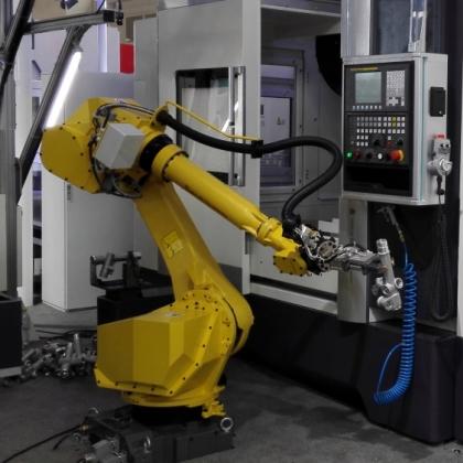 数控车床上下料机器人,数控机器人定制,厂家直销,价格低