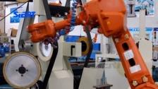 榔头机器人抛光系统