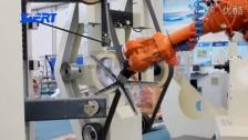 二代办公椅座打磨机器人系统