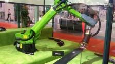 CIROS KEBA抛光机器人展示