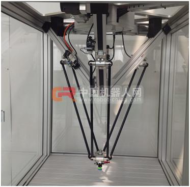 众拓机器人研发的三直线轴结构并联机器人走入市场
