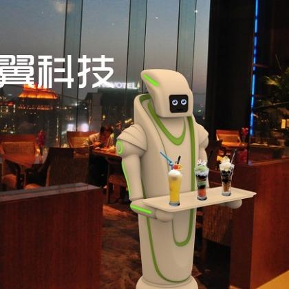 奇翼科技免费租赁餐厅机器人,打造机器人餐厅
