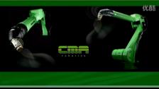 CMA喷涂机器人工厂运用案例