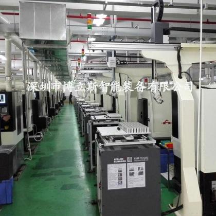桁架机械手,数控车床桁架式机械手,自动上下料机械手定制