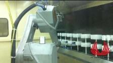 机器人喷涂---泰达机器人