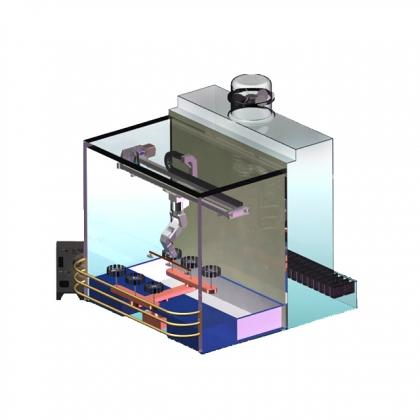 SpinPainter 嵌入式智能机器人喷涂系统