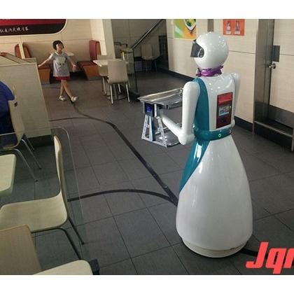 欧铠智能送餐机器人 传菜机器人厂家