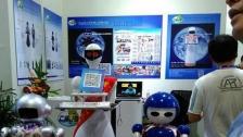 火爆智能机器人餐厅送餐迎宾机器人