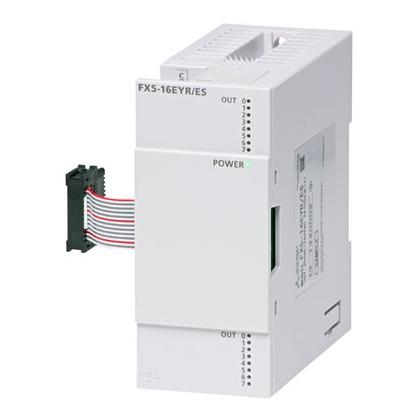 FX5-16EYT/ESS 三菱PLC模块 iQ-F 16点输出模块FX5-16EYT/ESS价格好