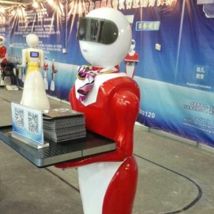 温州机器人,餐厅送餐传菜机器人