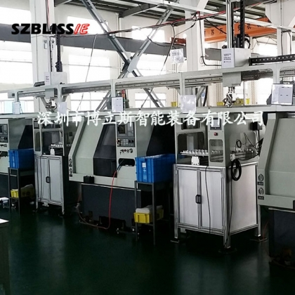 数控车床自动送料机械手 自动送料工业机器人 博立斯